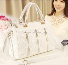 2015 China newest wholesale exported women leather handbag lady , trendy leather handbag for women