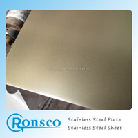 2015 decorative golden sheet metal thin stainless steel Chinese supplier
