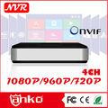 Más comprado 4ch mini DVR h.264 p2p ONVIF