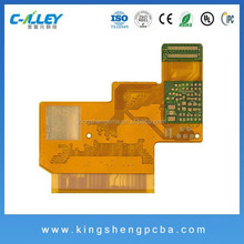 8 Layer PI flex PCB Prototype , Rigid-Flexible PCB Prototype supplier