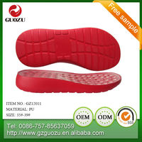ladies low wedge color silpper flexible pu sole