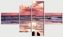 Image printed on canvas and stretched on wood frame wall art canvas print