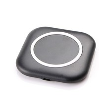 Mini Square Type Qi Standard Mobile Phone Smart Wireless Charger Charing Panel Transmitter