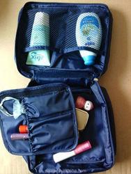 Korean Design Waterproof foldable cheap makeup bags and cases