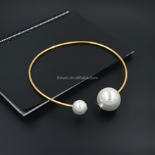 wholesale fashion essential oil diffuser real freshwater pearl necklace 2012