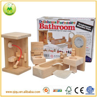2014 new children dollshouse furniture mini wooden toy furniture