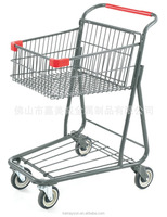 American Style Super Capacity Metal shopping Trolley Cart in Foshan China