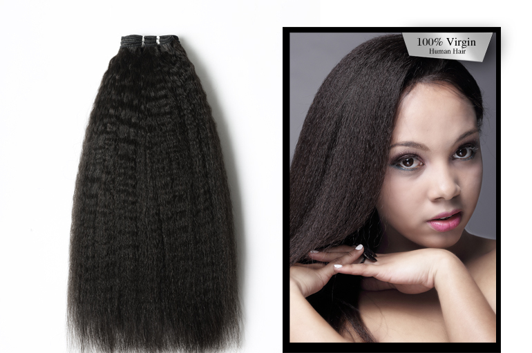 2014 Natural Color Remy Unprocessed Sew In Human Hair Extensions 5a