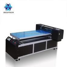 Deju a1 uv flatbed printing machine printing ipad case