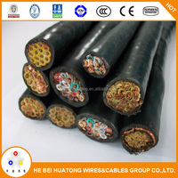 450/750 v solid or flexible copper conductor pvc or rubber insulated screened/unscreened control cable