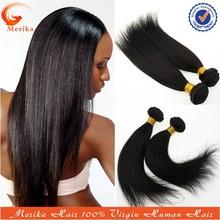 Fashion black women brazilian human hair extension, cheap brazilian virgin hair straight