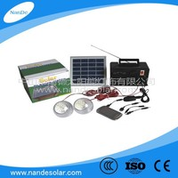 Solar LED Camping Lantern with FM/AM Radio and USB charger