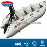 inflatable kayak with outboard engine