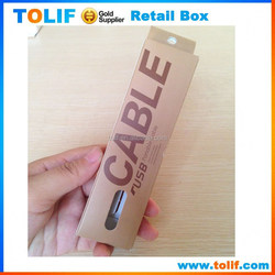 Alibaba china cell phone wholesale usb data cable small retail box packaging for apple samsung htc moto sony lg nokia package
