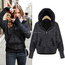 2015 pullover sweater ladies pullover womens long sleeve hoodies & sweatshirts wholesale blank pullover hoodies