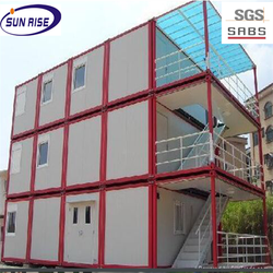 Modern economical 20ft&40ft prefab container homes shipping container home for sale