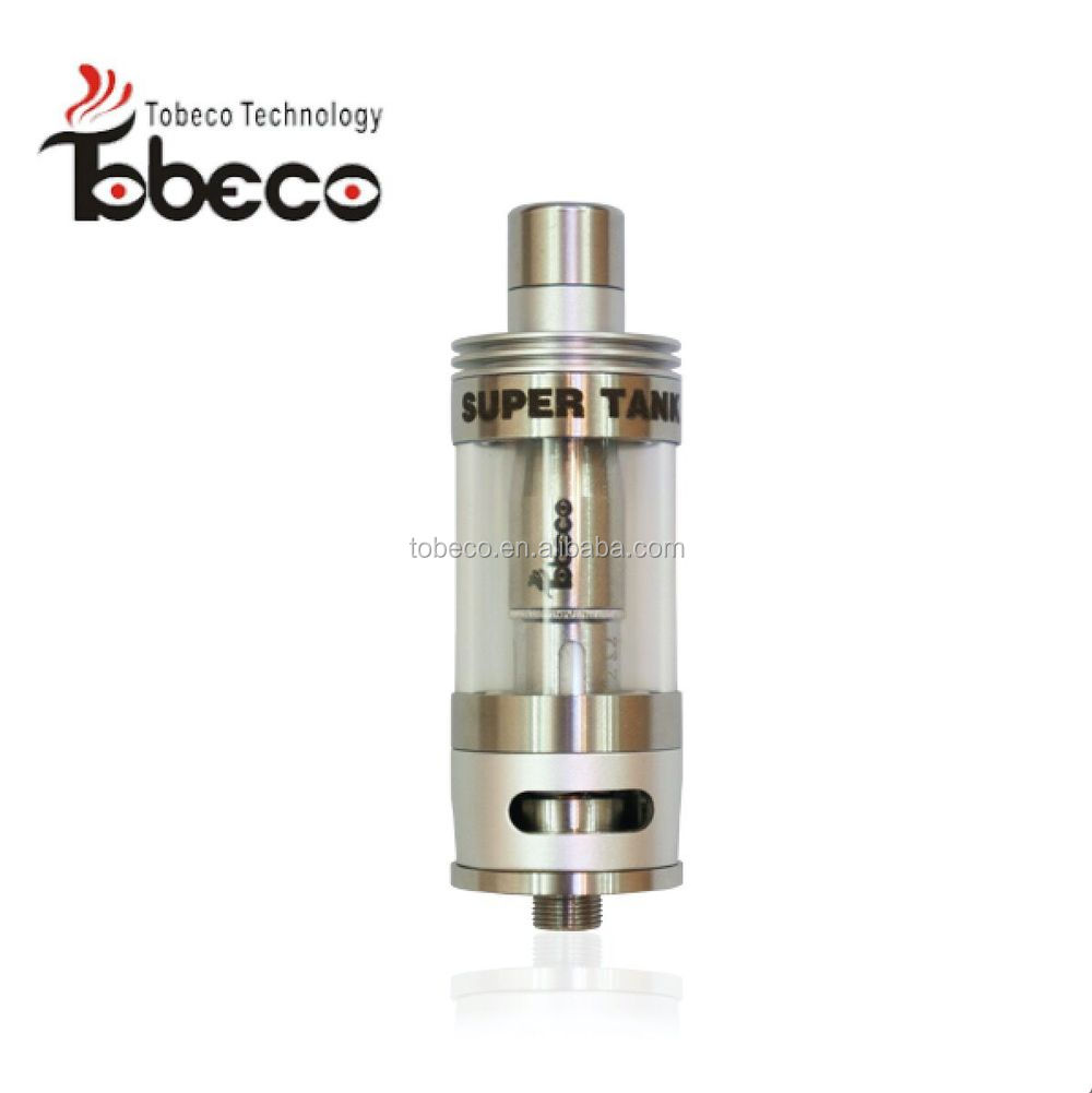 Tobeco newest authentic patented super tank/turbo/rubik/hollopoint rda most popular huge vapor super tank