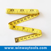 1.5m/2m best sale customized sewing cloth measuring tape pvc tailors tape measure