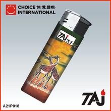 TAJ Brand African animal sticker custom sticker lighter