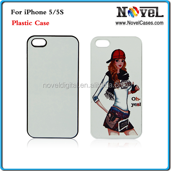 2D Sublimation Hard Plastic Phone Cover for iPhone5/5S