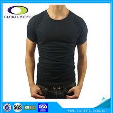 High quality black men plain 2014 tshirt