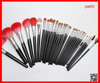 YASHI cosmetic brush best goat hair 30pcs makeup brush set