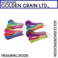 Food grade plastic measuring spoon royal kitchen sets