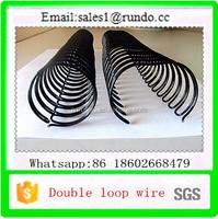 office&school binding supplies twin wire loop double loop wire o