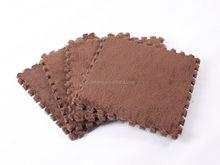 eva fuzzy floor mat ,Carpet-top EVA floor mat