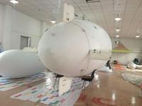 8m PVC remote control blimp airship advertising the exhibition custom size remote control blimp