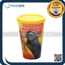 2015 NEW Promotional Products 3D Lenticulat pp Cup Lenticular Printing Pastic Cups