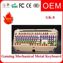 2015 new best gaming keyboard and mouse combo with led backlight