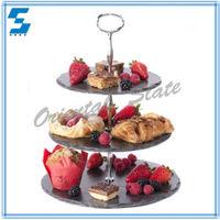 2015 Unique Fashion Cupcake 3 Tier Wedding Cake Stand