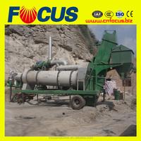 portable asphalt batch plant/cheap bitumen batch mix plant /used asphalt mixing plant