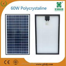 60W High efficiency poly solar panel
