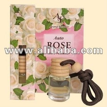Auto Air Freshener Rose white - 5ml.