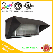 UL DLC outdoor led wall pack lights with 277vac/347vac optional use OSRAM and meanwell 30w 60w 100w 120w