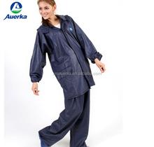 OEM factory adult outdoor waterproof raincoat rainsuit reflective high elastic breathable bicycle, motorcycle