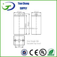 2V 300Ah Sealed Lead Acid Battery