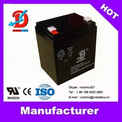 12v batteries 12v4ah rechargeable lead acid battery with Sufficient capacity