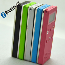 Most hotselling warranty quality card speaker MP3 player, lovely mini bluetooth speaker with fm radio
