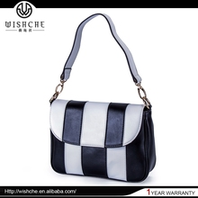 Wishche Best Quality Travel Strap Long Women Pig Skin Leather Bag W2415
