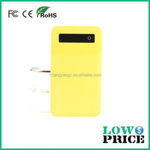 2015 Electricity-saving function Li-ion battery power charge /colorful power bank 4000mah with liquid crystal display