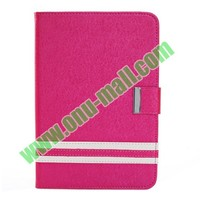 Fashional Leather Case for iPad Mini 2 with Holder and Card Slots