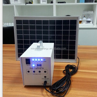 10W Solar Panel Mini Home Lighting System solar panel pakistan lahore With Mobile Charger