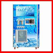 Full automatically ice vending bagging machine with CE Certification