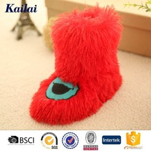 Make happy supple cute thin sole baby shoes