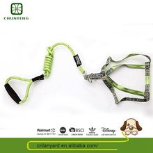 Customized Logo Pets Outdoor Support Oem/Odm Leather Dog Leash And Collar