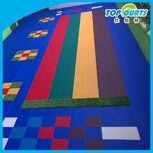 Hot sale colorful kindergarten floor materials