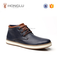 2015 men casual shoes Wenzhou fashion PU men chukka boots